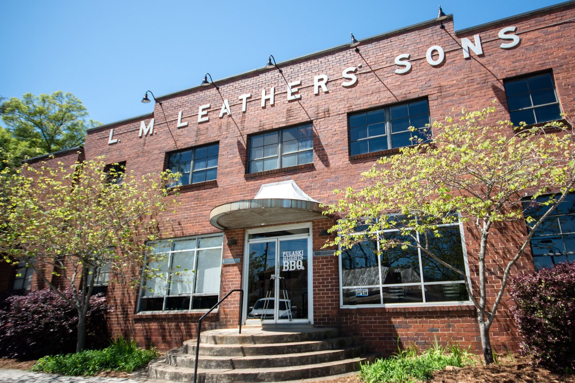 the leathers building